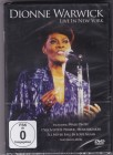 Dionne Warwick Live in New York DVD Neu +OVP
