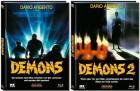 Demons 1+2 Mediabook jeweils Cover A - XT NEU/OVP