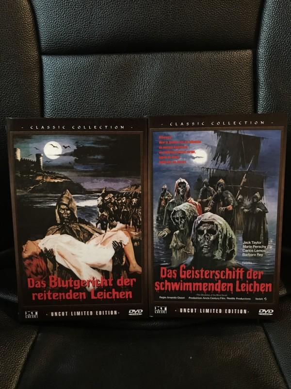 Der Fluch der reitenden Leichen - Dvd - Hartbox *wie neu*