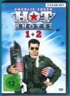 Hot Shots! Teil 1 + Teil 2 DVD Charlie Sheen NEUWERTIG