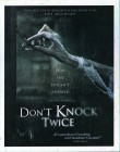 DON´T KNOCK TWICE Blu-ray - klasse Mystery Horror