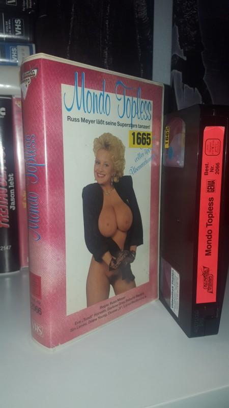 Mondo Topless - Gloria Video VHS