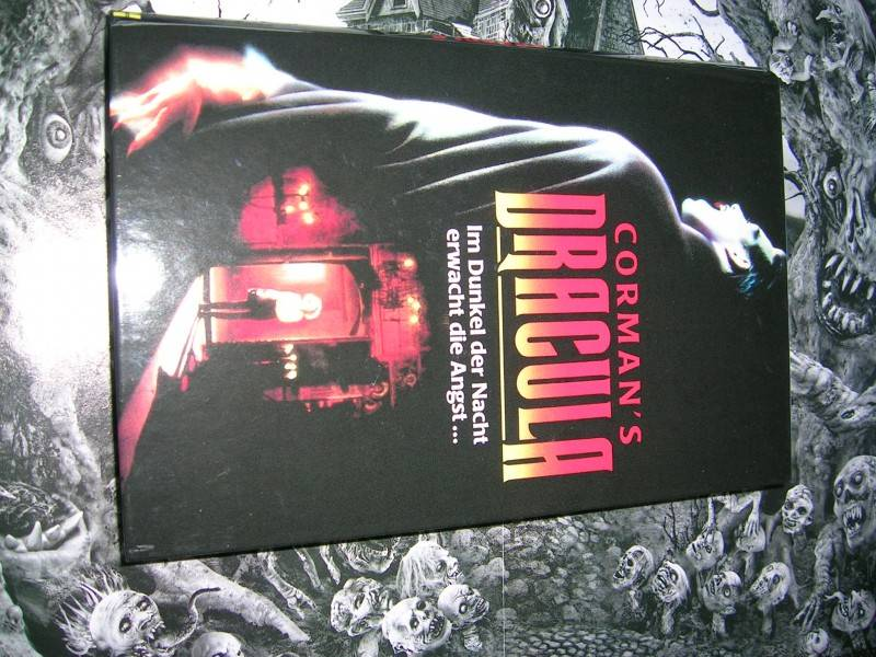 ROGER CORMAN´S DRACULA LIMITED 50 HARTBOX NEU RAR OOP