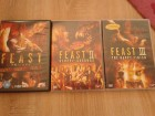 Feast Trilogy UK-Import Unrated + 2 & 3 Dt. Version