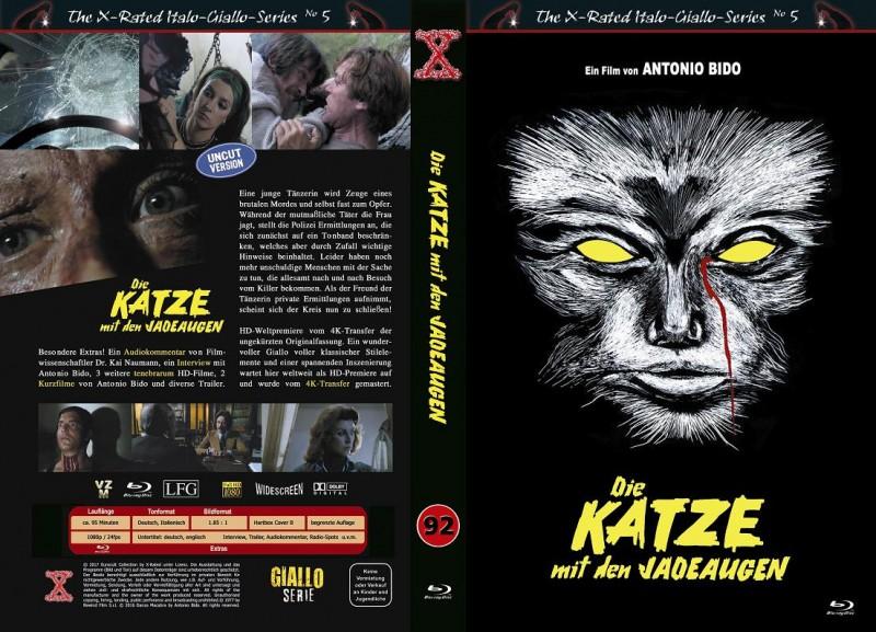 X-Rated: Katze mit den Jadeaugen (BR-Hartbox B) NEU ab 1€