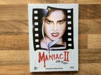 LOVE TO KILL MEDIABOOK C  MANIAC 2 NEU UND ORIGINALVERPACKT