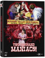 Two Thousand (2000) Maniacs - Mediabook [BR+DVD] (uncut) NEU