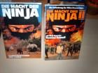Die Macht der Ninja 1 + 2  --------grosse Hartbox