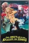 Eine Jungfrau in den Krallen von Zombies - Hartbox