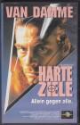 Harte Ziele FSK 18 - VHS VAN DAMME
