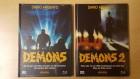 Demons 1&2*Mediabook*Dämonen 1&2*Mediabook*Cover A*Neu&OVP