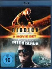 PITCH BLACK + RIDDICK Chronicles 2x Blu-ray Vin Diesel