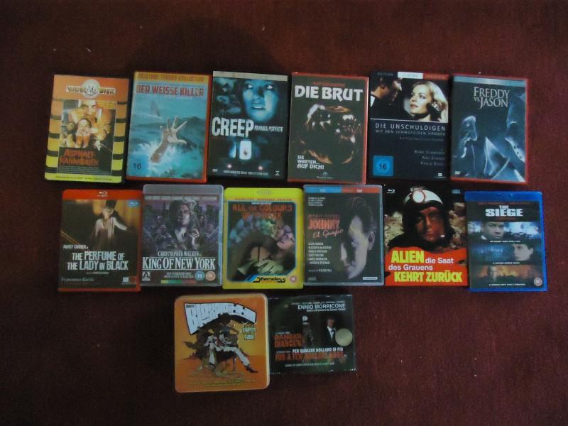 RIESEN UNCUT PAKET! DVD/BLU-RAY/CD/IMPORTE! ANSCHAUEN!