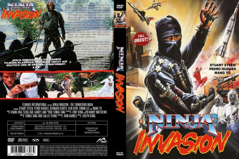 Ninja Invasion (UNCUT / Amaray)