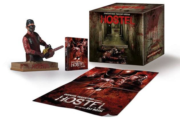 Hostel Büste Original Nameless Extended Version Uncut Box