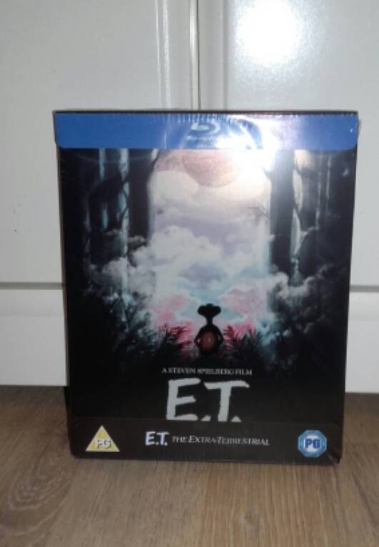 ☆☆E.T.-ZAAVI UK STEELBOOK,NEU OVP☆☆