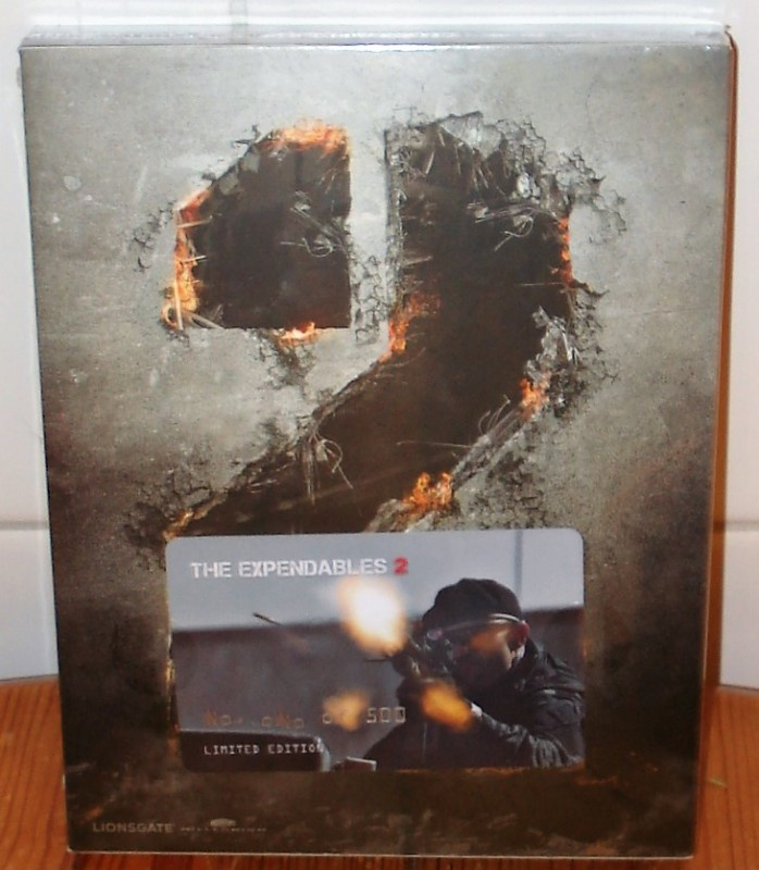 THE EXPENDABLES 1 und 2 - lim. 501 Steelbook - (Filmarena)