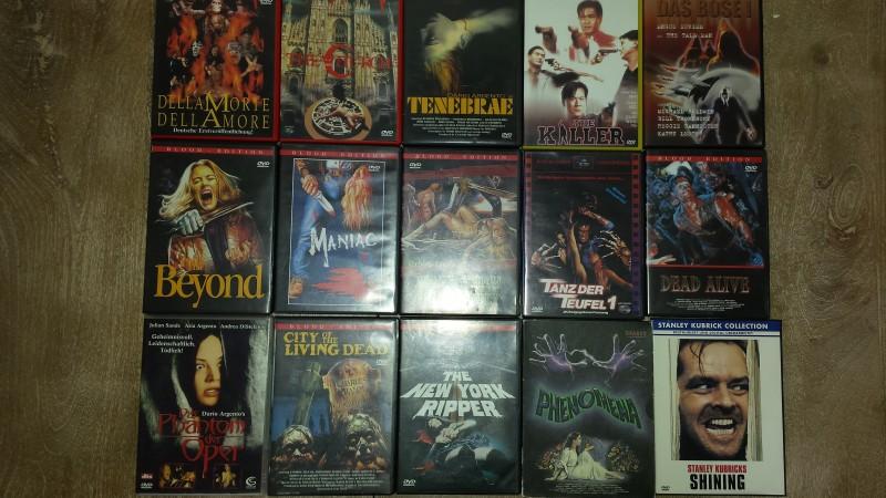 15x Horror uncut Dead Alive, Tanz der Teufel, The Beyond ...