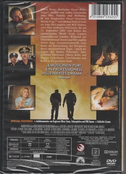 World Trade Center *DVD*NEU*OVP* Nicolas Cage - Oliver Stone