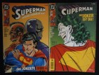 Superman 18 + 19 - ... der Joker ist da ! DC Comics - alt !