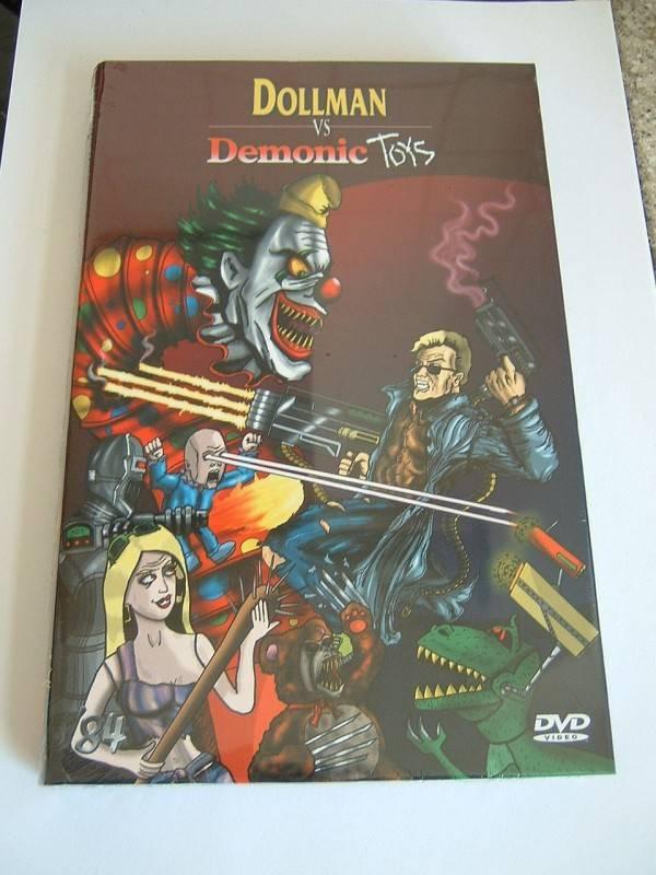 Doll Man vs. Demonic Toys (große Buchbox, limitiert, OVP)