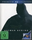Batman Begins - Premium Blu-ray Collection (Uncut / Buch-Box