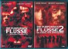 Die purpurnen Flüsse / Die purpurnen Flüsse 2 (2 DVDs) s g Z