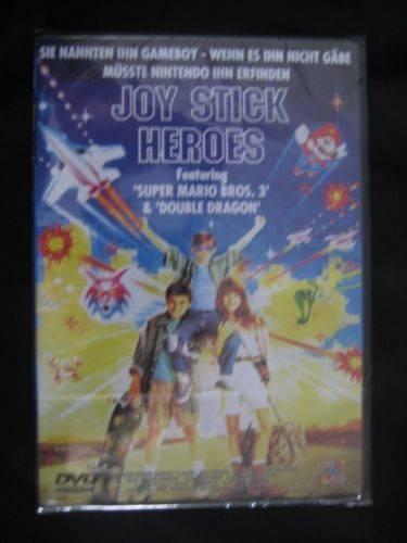 JOY STICK HEROES - OOP/Rarität/Super Mario/Joystick/DVD/OVP