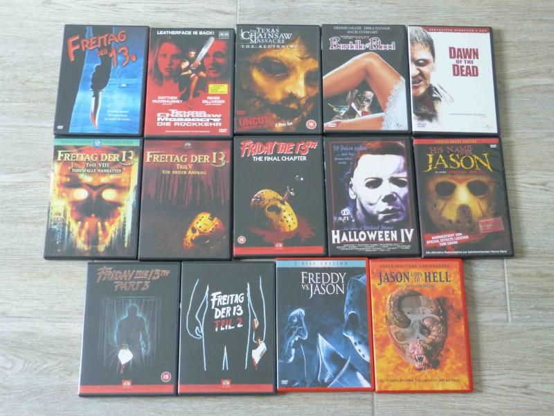 Horror DVD Sammlung