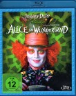 ALICE IM WUNDERLAND Blu-ray - Disney Tim Burton Johnny Depp