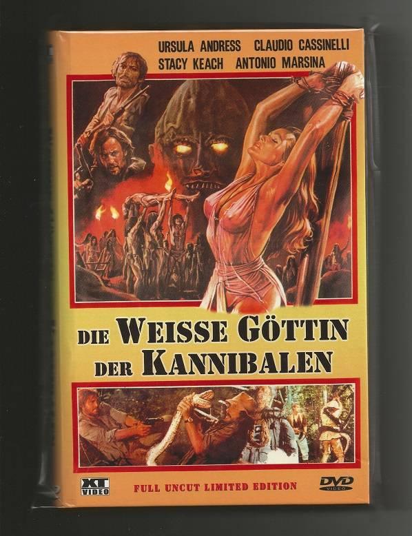 Die weisse Göttin der Kannibalen # XT VIDEO + NR. 0011/1000