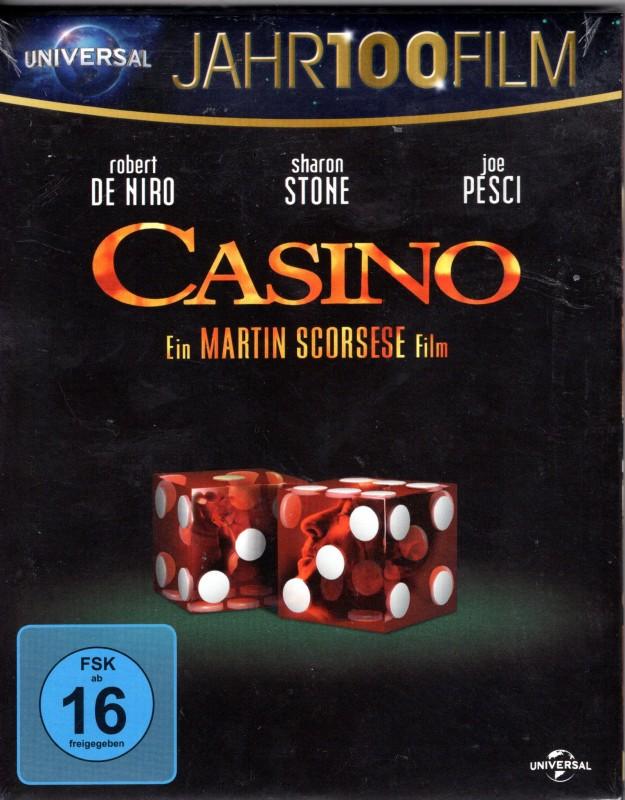 CASINO Blu-ray - Scorsese Klassiker Robert De Niro Joe Pesci