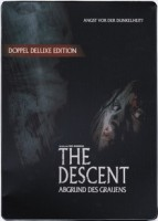 2 DVDs The Descent - Abgrund des Grauens - Steelbook wie NEU