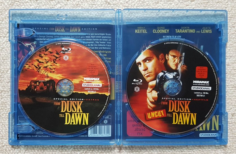 FROM DUSK TILL DAWN - uncut - Blu-ray im Bestzustand!