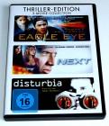 3 DVD # Disturbia # Next # Eagle Eye - Ausser Kontrolle