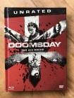 Doomsday - Tag der Rache Mediabook - Blu-ray UNCUT - wie NEU