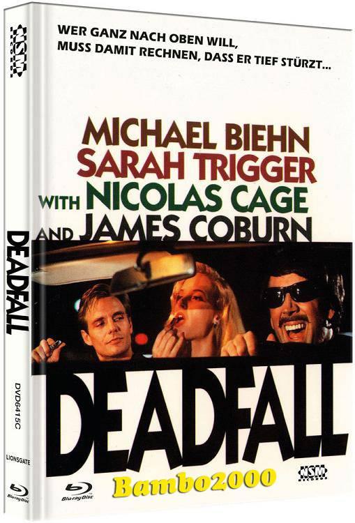 *DEADFALL *UNCUT* COVER C *DVD+BLU-RAY MEDIABOOK* NEU/OVP