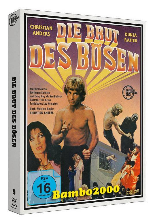 *DIE BRUT DES BÖSEN *UNCUT* DVD+BLU-RAY DIGIPACK *NEU/OVP*