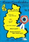 BUMS GESCHICHTEN  Nr 3 ca 1980