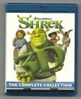 SHREK - the complete Collection, 3D + 2D, 4 Blu-ray Box