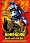 KING-KONG - FRANKENSTEINS SOHN (Godzilla) - DVD - OVP