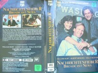 Nachrichtenfieber ... William Hurt, Albert Brooks ...  VHS !