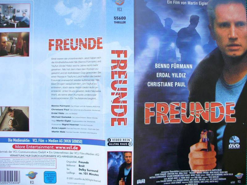 Freunde ... Benno Fürmann, Erdal Yildiz  ...  VHS !!
