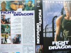 Fight of the Dragon ...  Dolph Lundgren ...  VHS !!