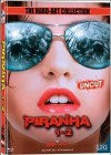 PIRANHA 1+2 Mediabook Cover C - Hard Art Collection