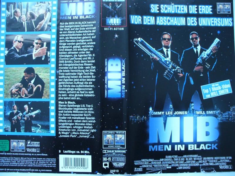 MIB - Men in Black ... Will Smith, Tommy Lee Jones