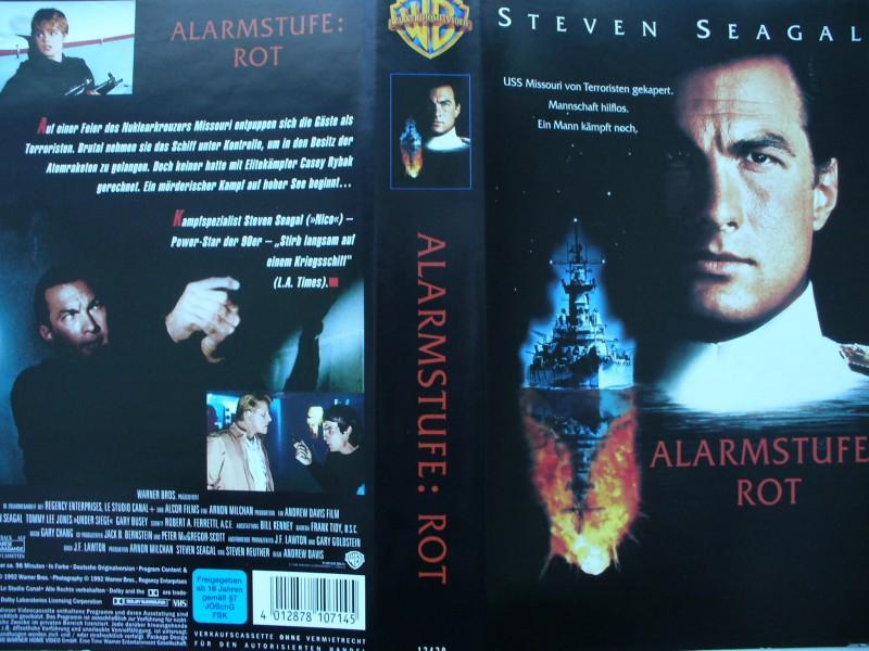 Alarmstufe : Rot ... Steven Seagal, Gary Busey ...  VHS !!!