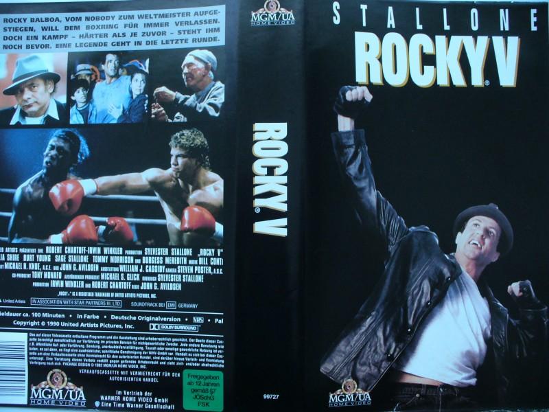 Rocky V ... Sylvester Stallone, Talia Shire, Burt Young