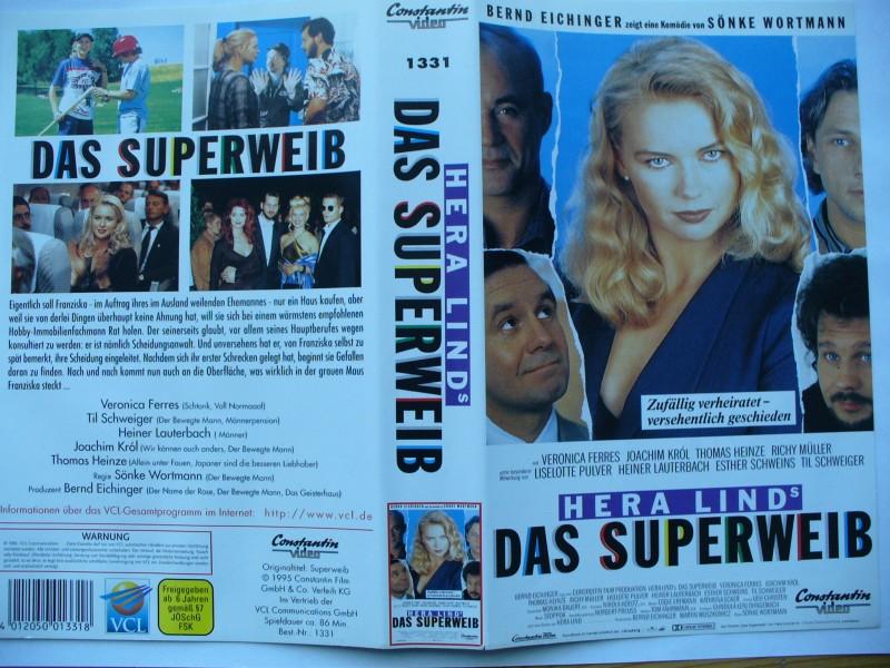Hera Lind´s Das Superweib ... Veronica Ferres  ... VHS !!!