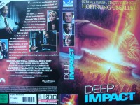 Deep Impact ... Robert Duvall, Elijah Wood  ... VHS !!!